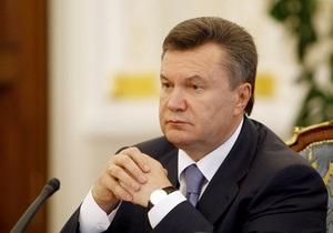 Янукович выразил соболезнования в связи со смертью Вознесенского