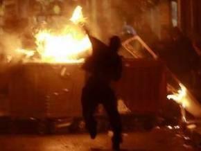 В Афинах и Салониках снова произошли столкновения молодежи с полицией