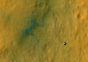 Кьюриосити взял образец атмосферы Марса для анализа