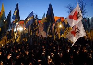 Исследование: В Украине в среднем проходит восемь акций протеста в день