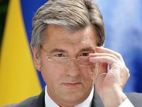 В Украинском доме началась итоговая пресс-конференция Ющенко