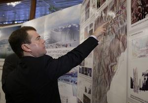 Медведев призвал сделать олимпийские объекты в Сочи удобными для граждан