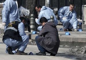 Возле посольства США в Анкаре прогремел взрыв
