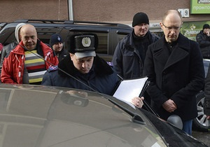 Яценюк разоблачил незаконное наблюдение за собой в Черновцах