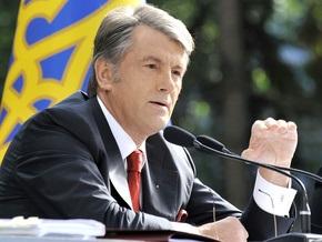 Ющенко верит в возобновление прямых поставок газа из Туркменистана
