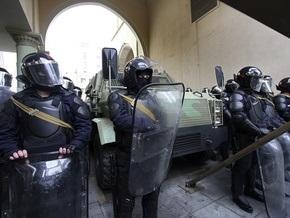Полиция Грузии разогнала акцию протеста оппозиции в центре Тбилиси