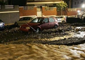На испанские Канары  обрушились сильнейшие за последние 20 лет наводнения