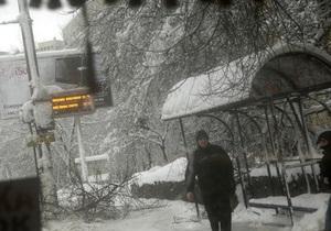 В новогоднюю ночь Киев продлил работу наземного транспорта