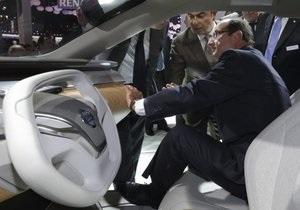 Компания Nissan представила в Париже водородный концепт-кроссовер TeRRA
