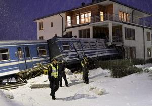 Шведская уборщица, врезавшаяся на поезде в жилой дом, не понесет наказание
