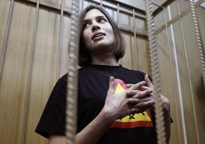 Надежда Толоконникова будет шить одежду в колонии вместе с осужденной за убийство Маркелова и Бабуровой