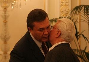 Янукович рад, что Кравчук занялся полезным делом