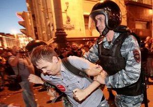 В Москве в ходе акции в поддержку Навального задержаны более ста активистов