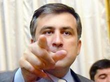 Саакашвили одел своих депутатов в шарфы и шапочки с красной пятеркой