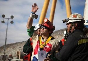 Из аварийной шахты в Чили подняли уже десятерых горняков