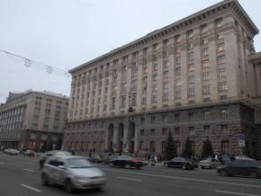 Власти решили разработать схему размещения временных сооружений в Киеве