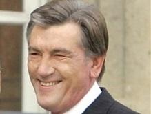 Ющенко устроил прием в честь талантливых детей Украины
