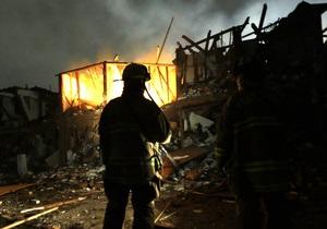 Взрыв в Техасе: Полиция пока не может установить причину пожара на химическом заводе