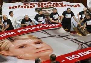 БЮТ и НУ-НС просят суд выпустить Тимошенко и Луценко из СИЗО