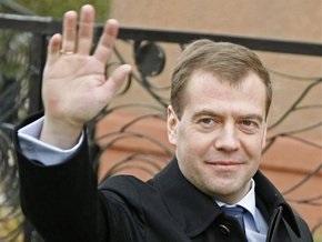 Медведев проведет день рождения на работе
