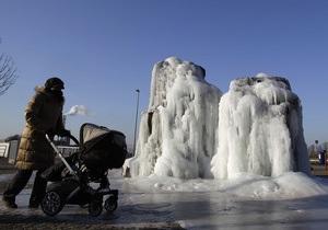 Метеорологи: Морозы в Европе продержатся до конца февраля