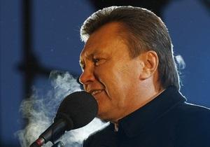 Янукович намерен построить при участии России три атомных реактора в Украине