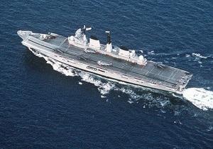 Британия выставит на аукцион знаменитый авианосец