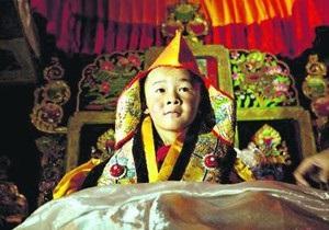 В Тибете пятилетний мальчик стал новым воплощением Будды