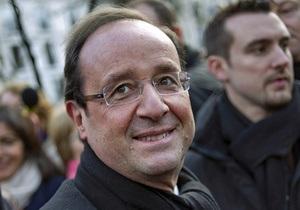 Предварительные результаты: Олланд опережает Саркози