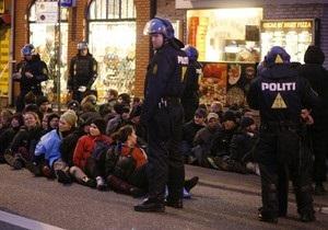 В Копенгагене арестовали около тысячи противников глобального потепления
