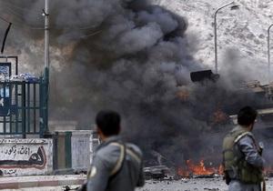 В Афганистане прогремел мощный взрыв, есть жертвы