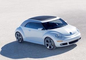 Volkswagen снова будет продавать Beetle в Украине