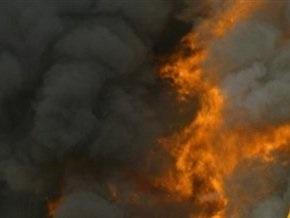 На месте пожара на нефтестанции в Югре пропали двое пожарных
