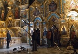 Янукович записал новогоднее телеобращение в Лавре