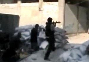 Сирийские повстанцы объявили о начале операции Вулкан в Дамаске