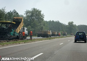 Ремонт дороги к Межигорью обойдется немного дешевле, чем ремонт всех дорог Киева