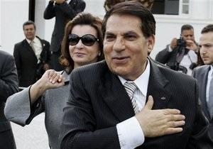 Экс-президент Туниса и его жена заочно приговорены к 35 годам тюрьмы каждый