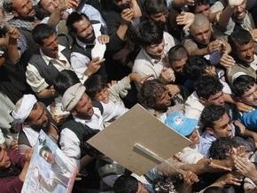 В Афганистане полиция применила оружие для разгона демонстрации: двое погибших