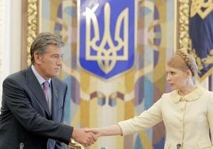 Ющенко приветствует идею Тимошенко о круглом столе, но  в чудо не верит