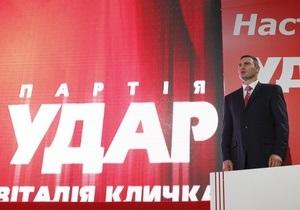 Партия Кличко поддержала иск Свободы к Центризбиркому