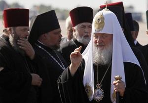 Патриарх Кирилл пожелал митпрополиту Владимиру  крепости духовных и физических сил