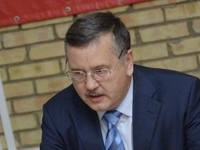 Гриценко предложил Ющенко срочно внести в Раду кандидатуру главы СБУ