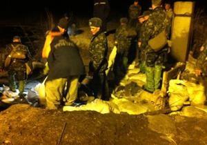 новости Киева - Минобороны - Бортничи - авария в Бортничах - дамба - прорыв дамбы - Минобороны подтвердило участие Президентского полка в ликвидации аварии в Бортничах