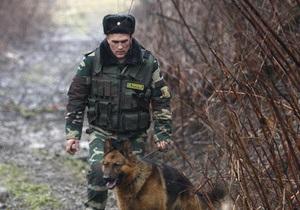 Закарпатские пограничники с применением оружия задержали иностранцев