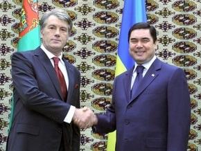 Ющенко открыл построенный украинцами мост через Амударью