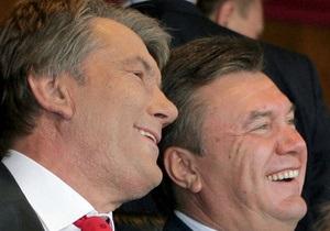 Ющенко призвал Януковича взять под контроль строительство Мистецького арсенала