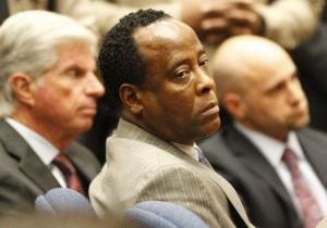 Врач Джексона собирается обжаловать приговор суда