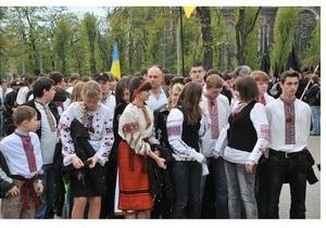 В Тернополе состоится марш в вышиванках
