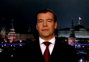 Медведев будет смотреть свое новогоднее обращение в кругу семьи