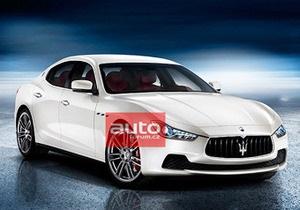 СМИ опубликовали фотографии нового седана Maserati